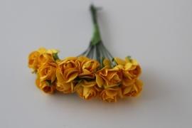 71093-205 Mini roosjes 12st geel
