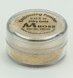 Mboss Embossing powder Silky Gold 390104