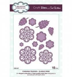 Creative Expressions CED1407 Classic Rose