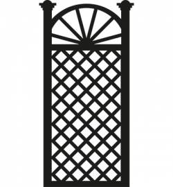 Marianne Design CR1262 Trellis flowers