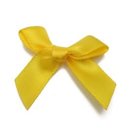 Strikjes geel 4x3cm