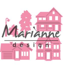 Marianne Design COL1451 - Mini village