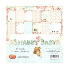 Craft & You paper pad Shabby Baby