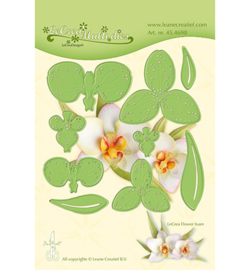 Lea'bilities 45.4698 Multi die Flower 012 Orchid