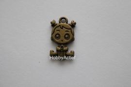 BabyGirl Tibetaans brons 24mm