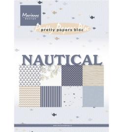 Marianne Design - Pretty Papers A5 - PK9133 Nautical