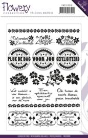 Precious Marieke - PMCS10010 Flowery - Tekst