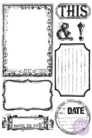 Prima Marketing Cling Stamps Set - Something Blue 813666
