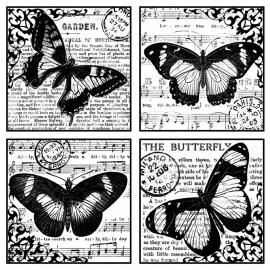 Crafty Individuals CI-135 Butterflies