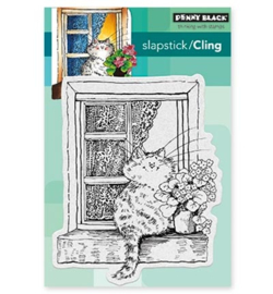 Penny Black cling stamp - The Lookout !
