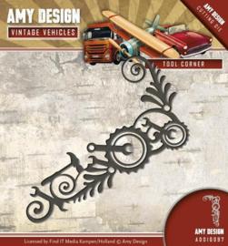 Amy Design - ADD10097 - Vintage Vehicles - Tool Corner