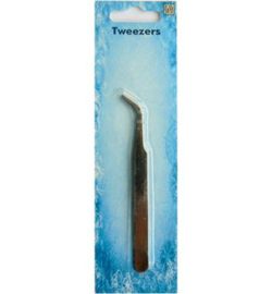 Nellie's Choice Tweezers curved point Pincet PINS003