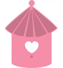 Marianne Design COL1310 Birdhouse birds