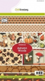 CraftEmotions paperpack-Autumn Woods A5 118040/0110