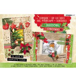 Studio Light - Stansblok Die Cut, Traditional Christmas nr.25 - A5STANSBLOKSD25