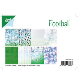 Joy!Crafts 6011/0523 - Voetbal A4