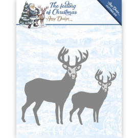 Amy Design - ADD10115 - The feeling of Christmas - Christmas reindeers