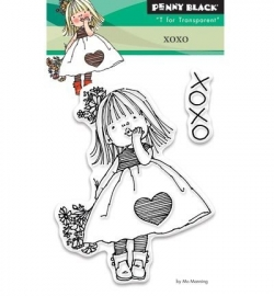 Penny Black clearstamp - Xoxo