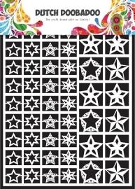 472.948.005 Laser Paper Art A5 wit Stars