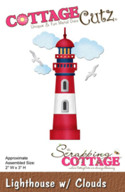 CottageCutz Lighthouse with Clouds CC-113
