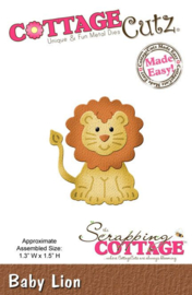 CottageCutz Baby Lion CC-008