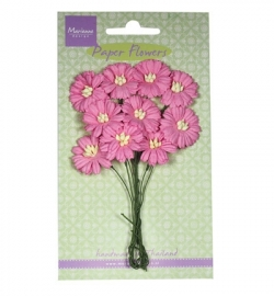 Marianne Design Paper Flowers Daisies - bright pink RB2252