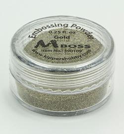 Mboss Embossing powder Gold 390109
