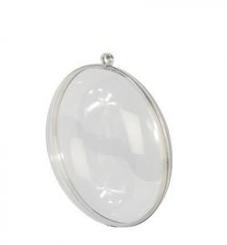 Transparant Medaillon, 110mm kerstbal