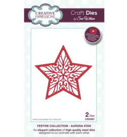 Creative Expressions CED3057 - Aurora Star