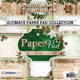 Studio Light Paper pad 36 vel 12 designs nr 92 PPWW92 15x15cm