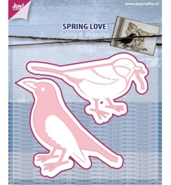 6002/0440 spring love bird