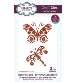 Creative Expressions CED25002 - Butterfly & Dragonfly