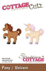 CottageCutz Pony / Unicorn (CC-088)