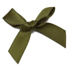 Strikjes groen 4x3cm