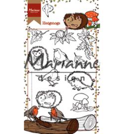 Marianne Design - HT1638 - Hetty's hedgehogs