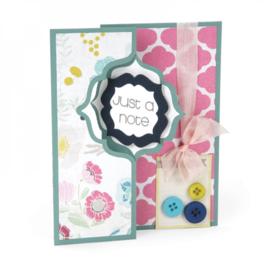 Sizzix Framelits Die Set 10PK - Card, Regal Flip-its 659633