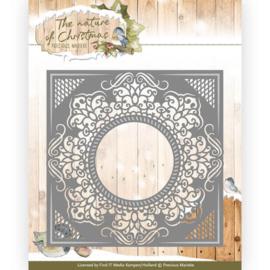 Precious Marieke - PM10098 - The nature of Christmas - Christmas Snowflake Frame