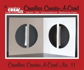 Crealies Create A Card stans/ die no. 11 CCAC11