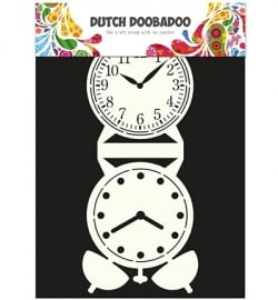 470.713.505 Dutch Card Art Clock