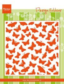 Marianne Design DF3433 - Embosing Folder - Butterflies