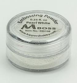 Mboss Embossing powder Pearl White 390108