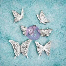 Prima Marketing Shabby Chic Embellishments - Butterflies 891992
