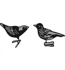 Marianne Design CR1380 Tiny's ornaments birds