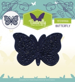 Yvonne Creations - YCD10066 Die - Butterfly