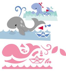 Marianne Design COL1430 Eline's whale