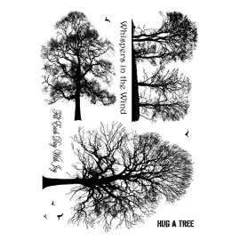 Crafty Individuals CI-209 Winter Trees