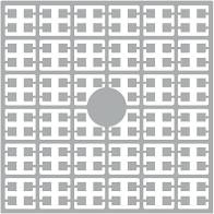 pixelmatje 277 - parelgrijs licht
