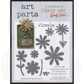 Studio 490 Wendy Vecchi Art Parts: Florals