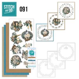STDO091 Stitch and Do 91 - Christmas Wishes