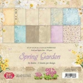 Craft & You Design paperpack-Spring Garden 6x6